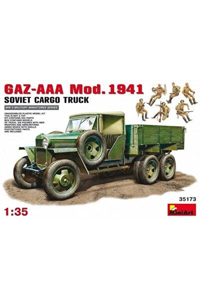 Airfix Miniart Askeri Araç 1:35 Gaz-aaa Cargo Truck Mod. 1941