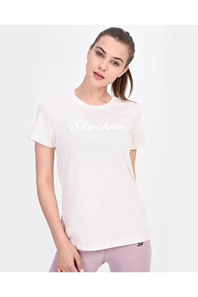 SKECHERS Kadın Pembe Tshirt