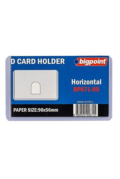 Bigpoint Kart Kabı Şeffaf 90x53mm 10'lu Poşet
