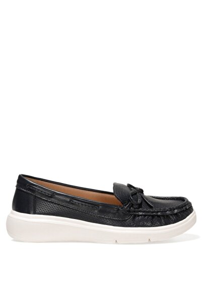 Nine West BRODY 1FX Mavi Kadın Loafer Ayakkabı 101027459