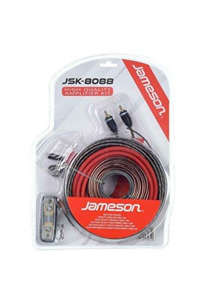 Jameson 8 Awg Araç Amfi Kablo Seti Jsk-8088