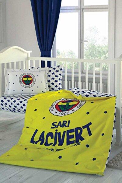 Fenerbahçe Erkek Çocuk Fenerbahce Star Baby Nevresım Takımı