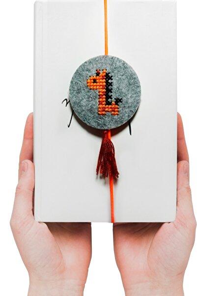 Bulik Creative Robotik Kodlama Ile Kanaviçe Işleme Kiti - Zürafa Desenli - Kitap Ayracı