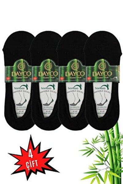 Kadın 4'lü Bambu Babet Çorabı