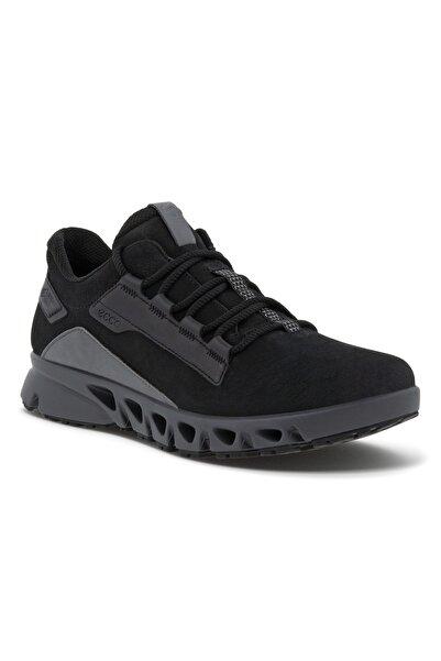 Ecco Kadın Siyah Hakiki Deri Ayakkabı Multı-vent W