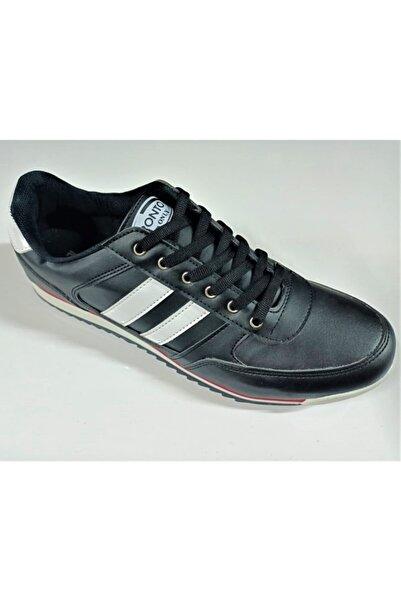 Pronto Erkek Siyah Spor Ayakkabı