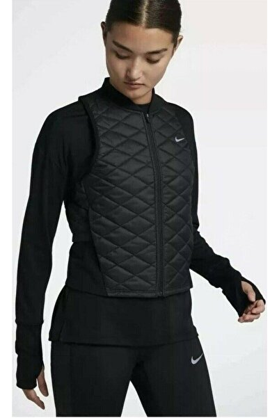 Nike Kadın Siyah Aerolayer Yelek Cj5562-010