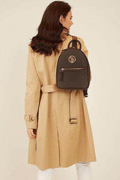 U.S. Polo Assn. 3086 Kahverengi Kadın Sırt Çantası 100575716