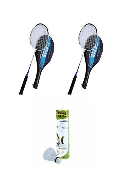 ALTIS Çift Raketli Badminton Seti (6 Badminton Topu)