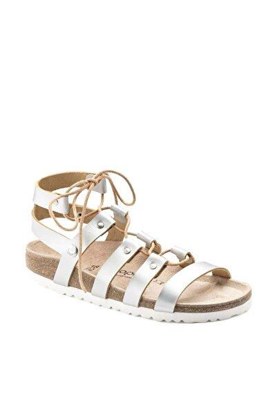 Birkenstock Cleo Nl Frosted Kadın Metallic Silver Ayakkabı 1008939
