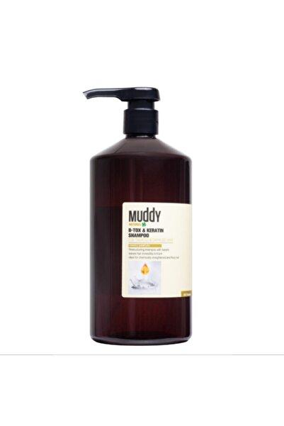Muddy B-tox&keratin Onarıcı Saç Şampuanı 1000 ml 8697426731780