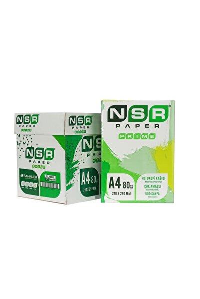 NSR PAPER Prıme A4 Fotokopi Kağıdı 500lü 5adet (1 Koli)