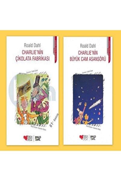 Can Çocuk Yayınları Charlinin Çikolata Fabrikası & Charlinin Büyük Cam Asansörü ( Roald Dahl )