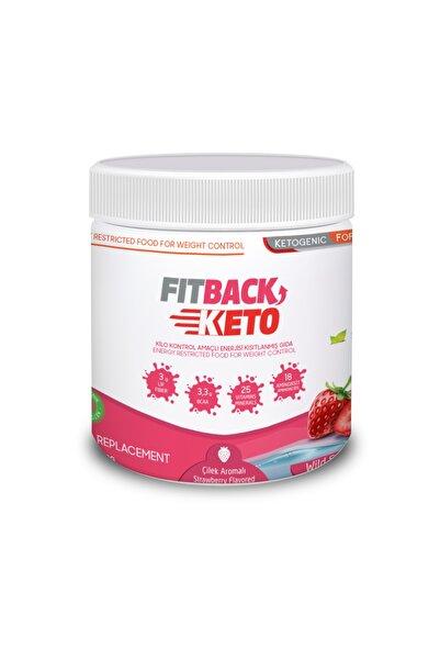Fitback - Çilek Aromalı Ketojenik (400 Gr)