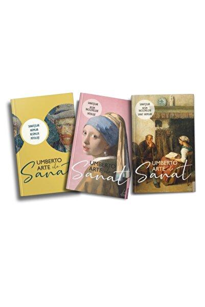 Destek Yayınları Umberto Arte Ile Sanat 3 Kitap Set