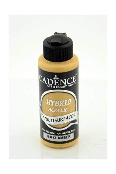 Cadence Hybrid Multisurface Akrilik Boya 120 ml. H-013 Amber