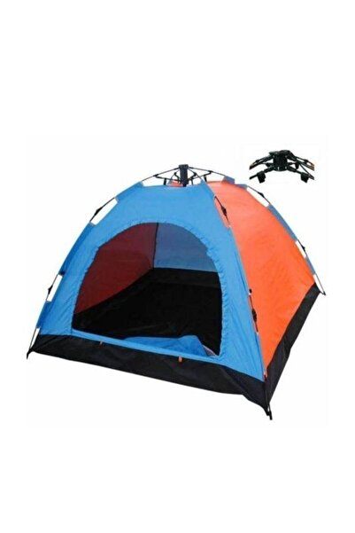 Onetick 8 Kişilik Renkli Dayanıklı Otomatik Kamp Çadırı 250x250x165