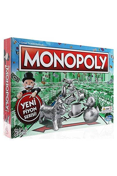 Monopoly Yeni Piyon Serisi C1009