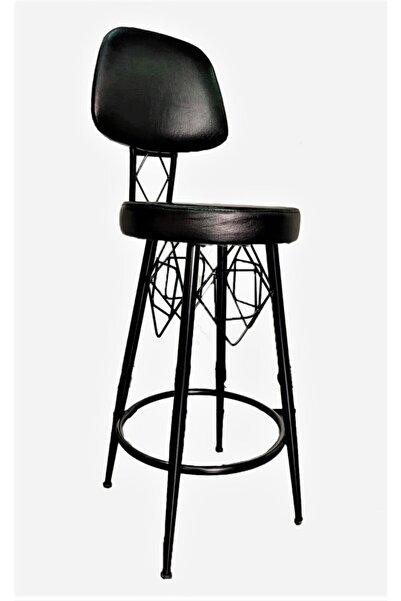 J&S QUALİTY Oturumu Ile Eyfel Bar Sandalyesi 75 cm
