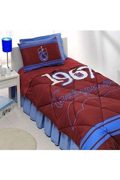 Taç Lisanslı Trabzonspor Logo Uyku Seti Tek Kişilik
