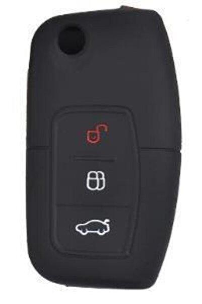 Space Ford Fiesta Focus Courier B-C Max Kuga Silikon Anahtar Kılıfı