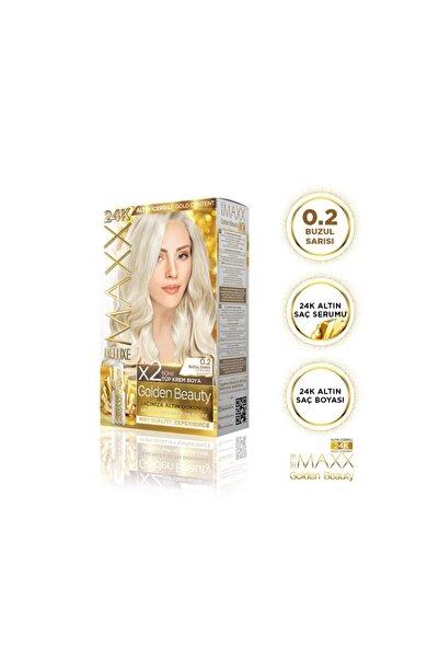 MAXX DELUXE Golden Beauty 0.2 Buzul Sarısı Boya