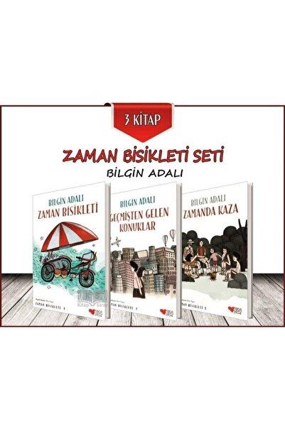 Can Çocuk Yayınları Zaman Bisikleti Seti 3 Kitap - Bilgin Adalı -