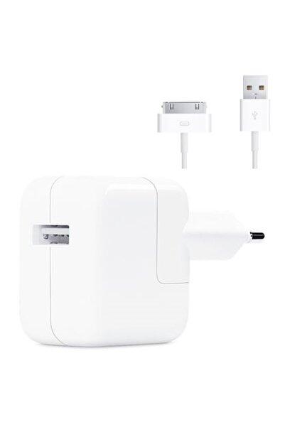 Magazabu Apple Ipad 3 Wi-fi A1416 Şarj Aleti 12w Adaptör + 30 Pin Kablo