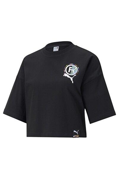 Puma Pı Graphic Tee Kadın Üst & T-shirt - 59970201