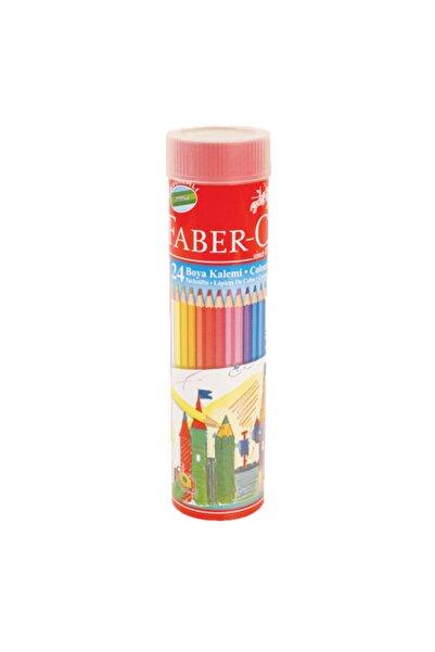 Faber Castell Faber 24 Renk Kuru Boya Kalemi Tüpte 116524