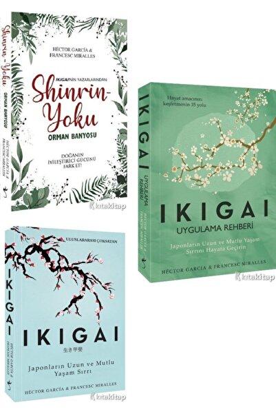 Klaros Yayınları Shinrin Yoku – Orman Banyosu - Ikigai - Ikigai - Japonların Uzun Ve Mutlu Yaşam - Hector Garcia