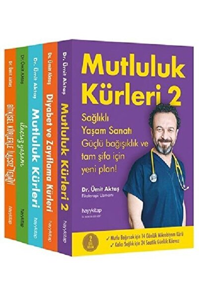 Hayykitap Dr. Ümit Aktaş Seti 5 Kitap