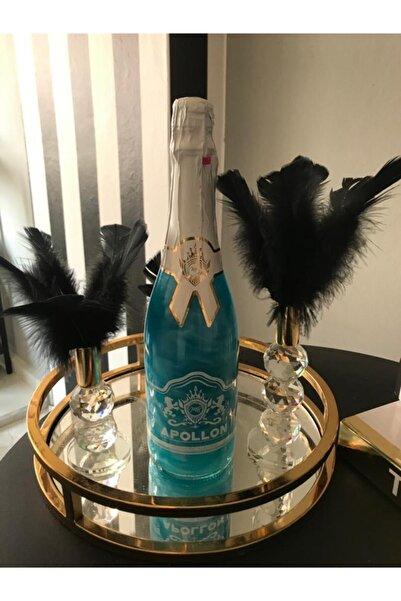 MB APOLLON Alkolsüz Gazlı içecek Blue Hawaii Sedefli
