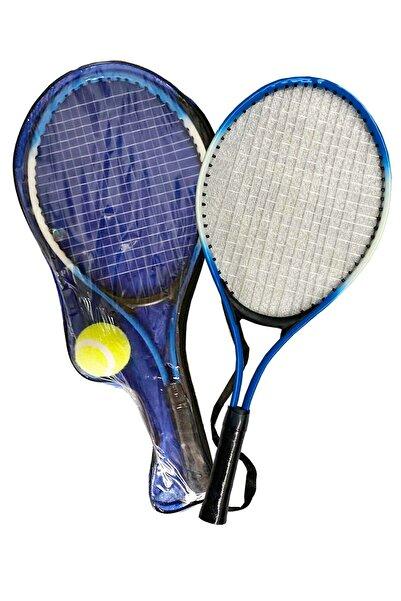 Liggo Çocuk Tenis Raketi Seti 21 Inç 2 Raket 1 Top Çantalı Set