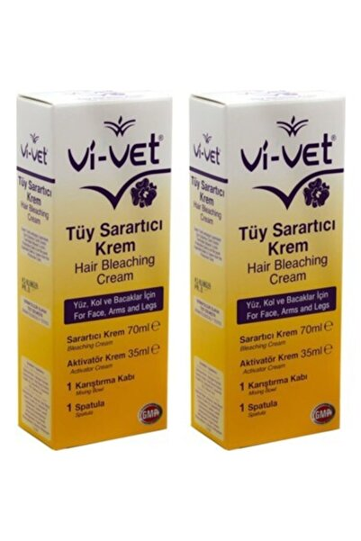 Vi-vet Tüy Sarartıcı Krem 70ml + 35 ml X 2 Adet