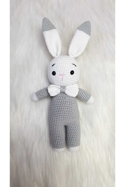 ON MARİFET Örgü Oyuncak Tavşan Amigurumi