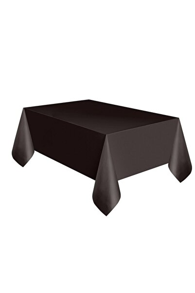 YERLİ MALI Siyah Kullan At Masa Örtüsü