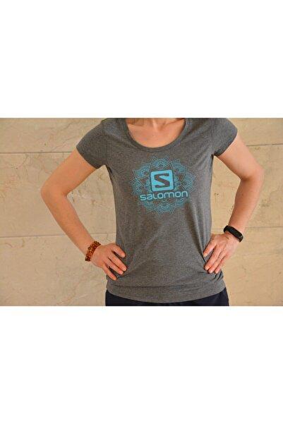 Salomon Kadın Gri Medusa Ss Tee W T-shirt S20wmedusa-23529