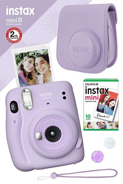 Fujifilm Instax Mini 11 Lila Fotoğraf Makinesi Ve Hediye Seti 3
