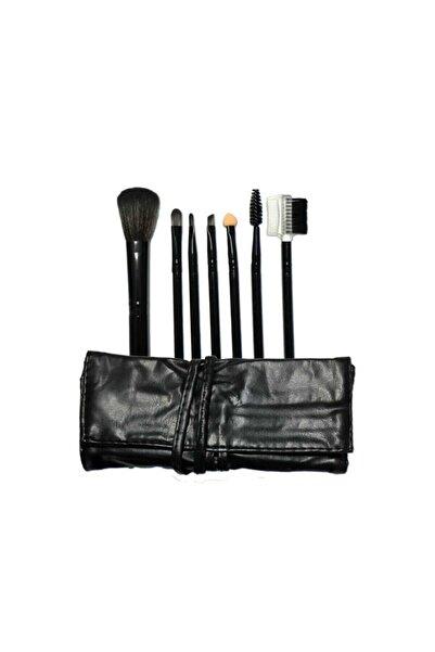 Makeuptime 7'li Deri Çantalı Fırça Seti 95647125321