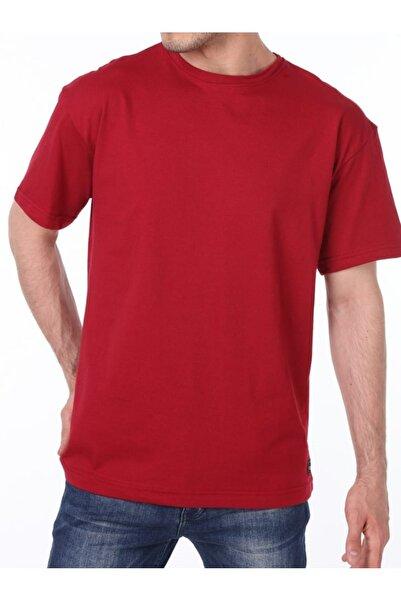GENIUS Erkek Kırmızı Store Oversize Bol Kesim Tişört