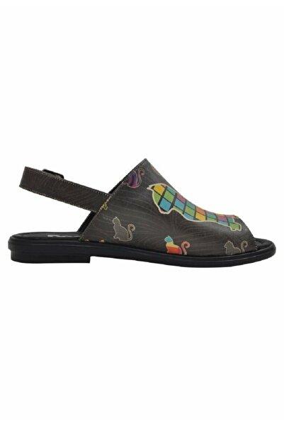 Dogo Kadın Renkli Sandalet