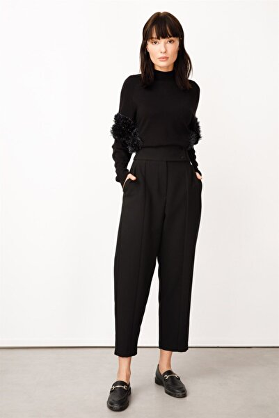 Ghisa Kadın Siyah Pantolon