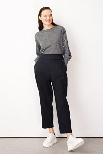 Ghisa Kadın Lacivert Pantolon