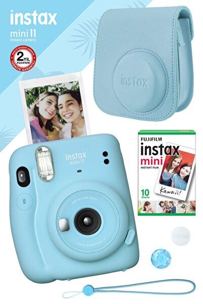 Fujifilm Instax Mini 11 Mavi Fotoğraf Makinesi Ve Hediye Seti 3