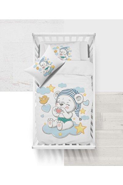 NADDA Bebek Nevresim Takımı Ranforce - Uykucu Ayıcık