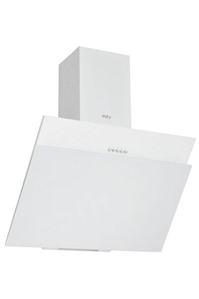 Esty - 3462w Beyaz 60 Cm Ankastre Davlumbaz