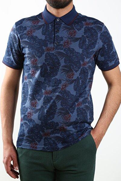 Sarar Erkek Lacivert İnterview Polo Yaka T-shirt
