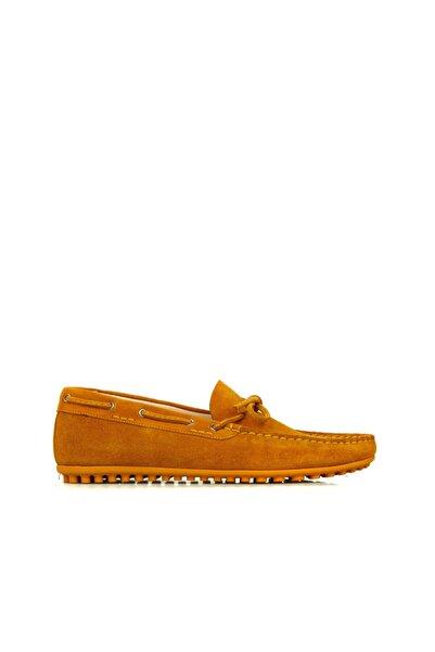 Dıvarese Erkek Sarı Loafer Ayakkabı