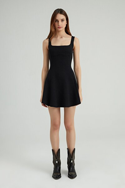 LOVEMETOO Lilium Siyah Elbise